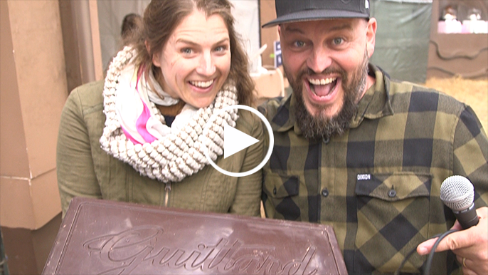 How to win a 10 lbs. chocolate bar at Outside Lands' Chocolate Land