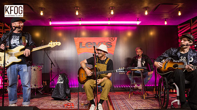 """KFOG Private Concert: Portugal. The Man – """"Purple Yellow Red and Blue"""""""