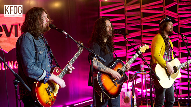 """KFOG Private Concert: J Roddy Walston and the Business – """"The Wanting"""""""