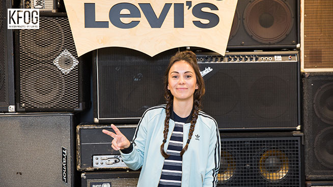 KFOG Private Concert: Amy Shark – Interview