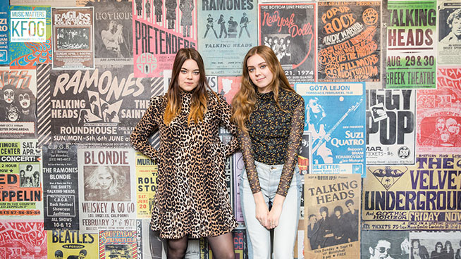 KFOG Private Concert: First Aid Kit – Gallery