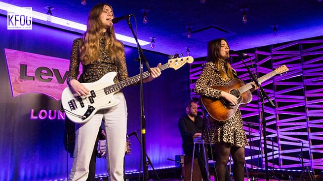 """KFOG Private Concert: First Aid Kit – """"It's A Shame"""""""