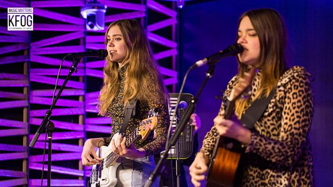 """KFOG Private Concert: First Aid Kit – """"Fireworks"""""""