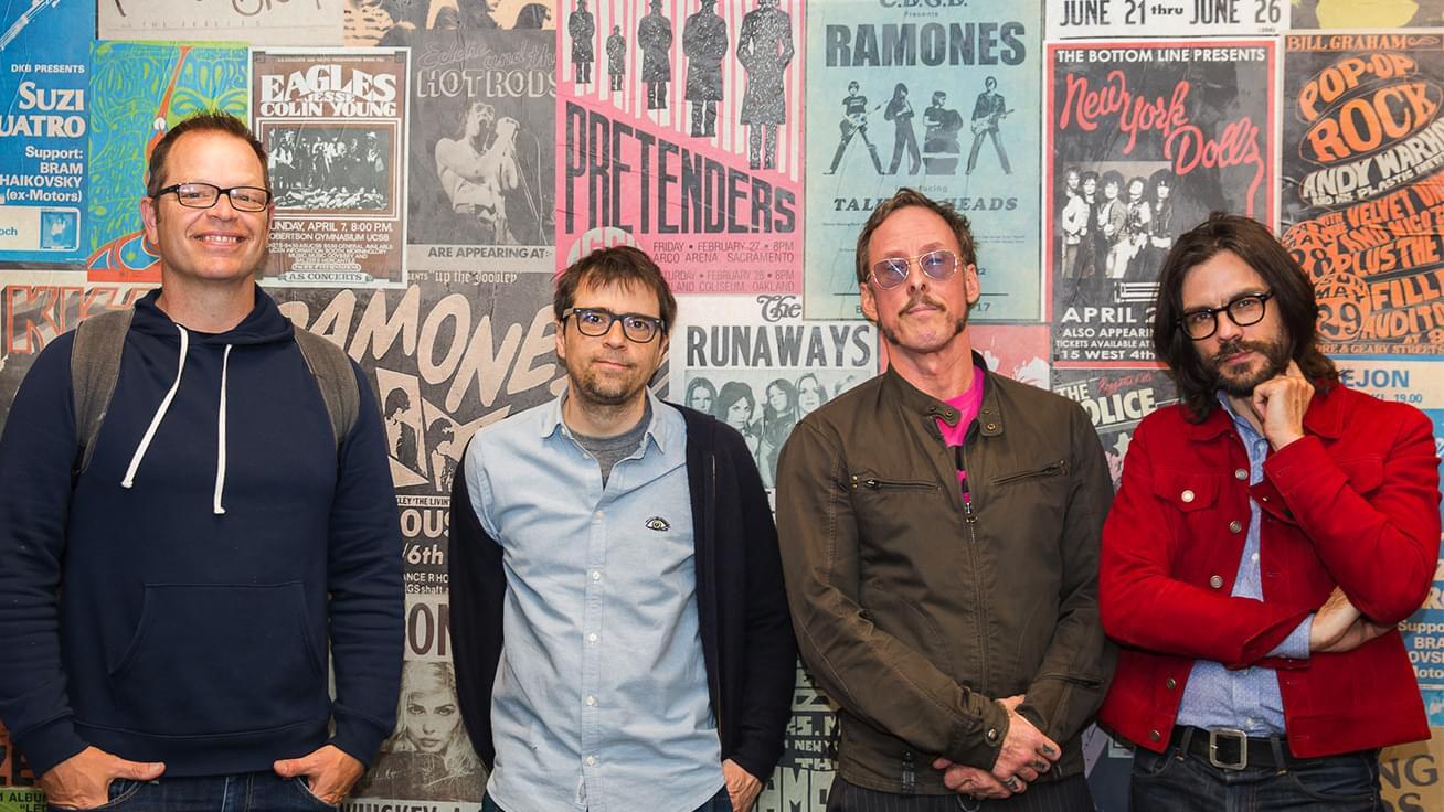 KFOG Private Concert: Weezer – Interview