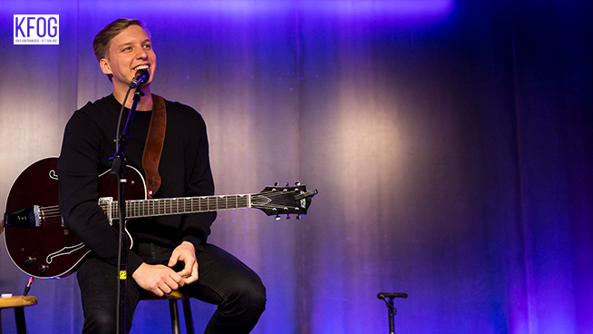 KFOG Private Concert: George Ezra – Full Concert