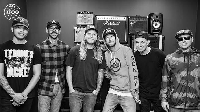 KFOG Studio Session: Dirty Heads – Interview