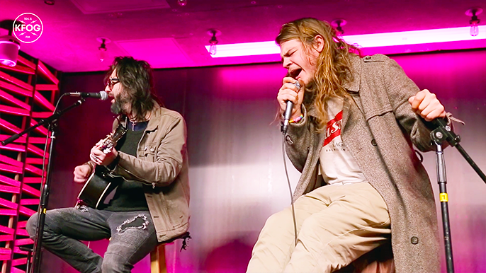 KFOG Studio Session: The Glorious Sons