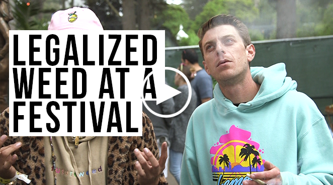 Experience The First Festival To Sell Cannabis: Grass Lands at Outside Lands 2019
