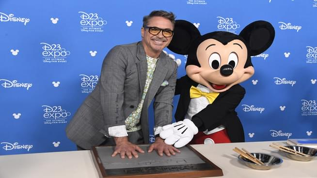Robert Downey Jr. Reveals He Was Once Arrested In Disneyland For Smoking Weed
