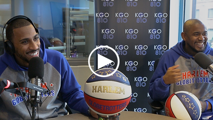 The Harlem Globetrotters join Ronn Owens in-studio