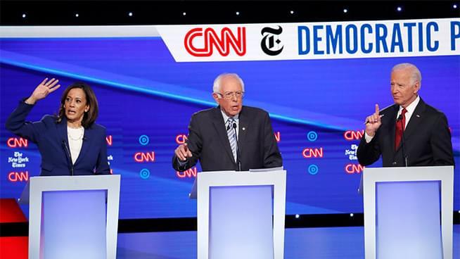 KGO Recaps the Democratic Presidential Primary Debate