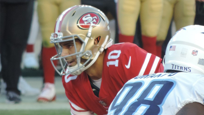 49ers reach five-year agreement with Jimmy Garoppolo, will be richest deal in NFL history [report]