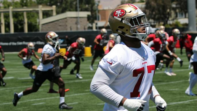 49ers Camp Notebook: Robert Saleh encouraged with improving pass rush