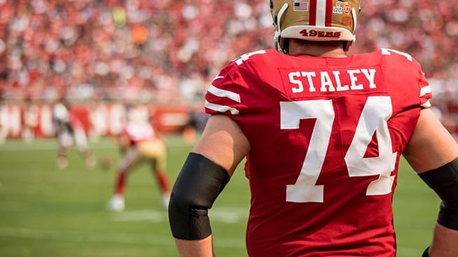 Lamont & Tonelli Talk To Joe Staley About The San Francisco 49ers 5-0 Start