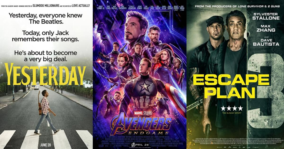 Flick Nation – Yesterday, The Avengers return, and … Escape Plan 3?