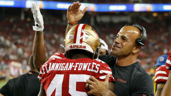 49ers Notebook: Saleh says 'no excuses' for Niners fans, must bring noise in home opener