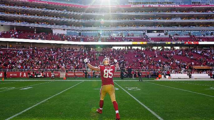 Three takeaways after 49ers bobble, fumble, stumble into ugly win, go 3-0 for first time since '98