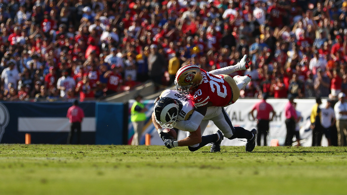 49ers reaffirm legitimacy atop NFC in methodical, old school beatdown of Rams