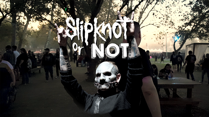 Slipknot or Not: Baby Huey Quizzes Aftershock