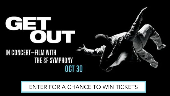 Enter for your chance to see Get Out with the SF Symphony!