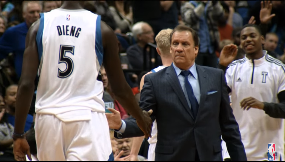 """SCHREIER: Gorgui Dieng on Flip Saunders' Death — """"It Took Me Two Months to Get Back to Normal"""""""