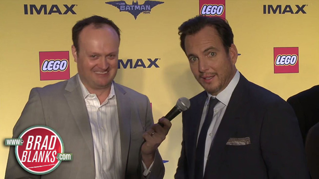 ►Brad Blanks & Will Arnett Discuss the LEGO Batman Movie