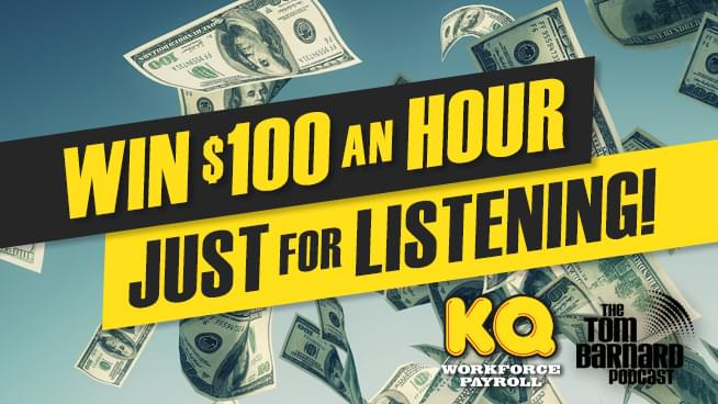 You Could Win $100 an Hour Just For Listening!