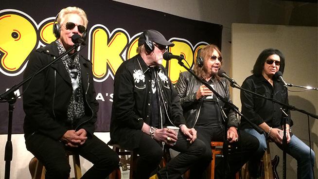 Interview with Gene Simmons, Don Felder, Rick Nielsen & Ace Frehley