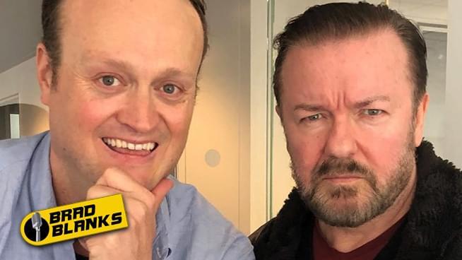 Brad Blanks & Ricky Gervais