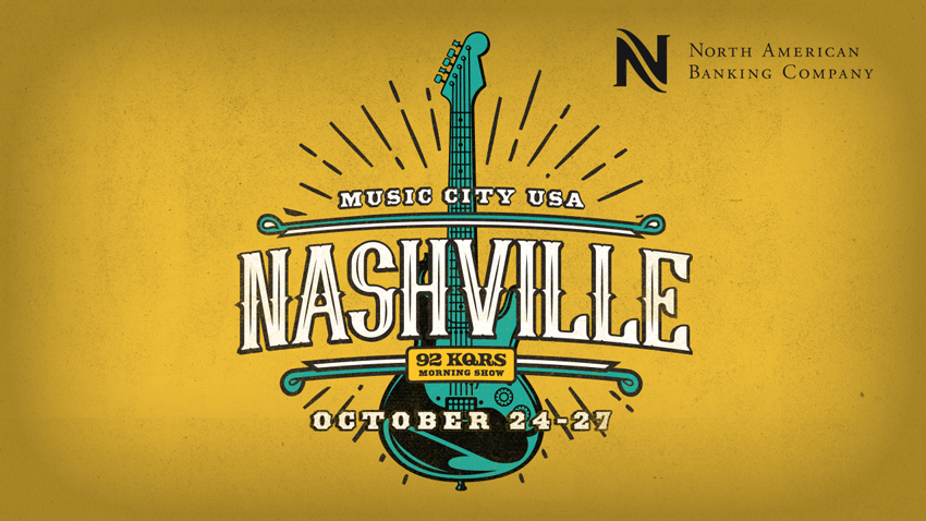 OCT 24-27 • KQ Morning Show in Nashville
