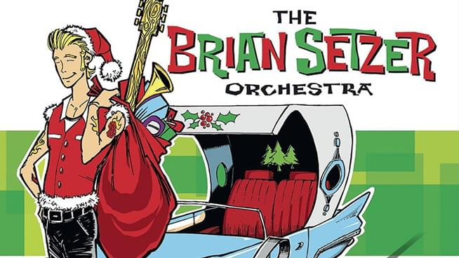 Brian Setzer Christmas.Nov 15 Brian Setzer Orchestra Christmas Rocks Tour