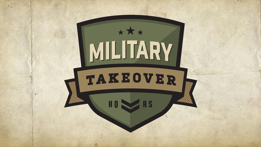 Nominate a Veteran to be Part of KQ's Military Takeover on November 10th