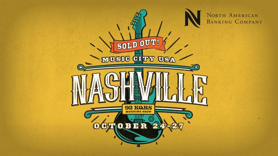 The KQ Morning Show is Heading to Nashville!