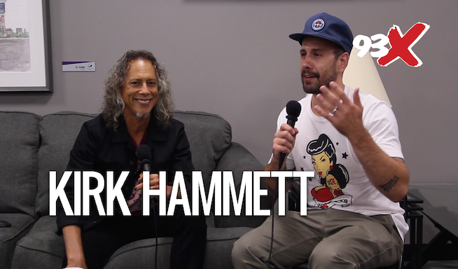 Woody Interviews Kirk Hammett