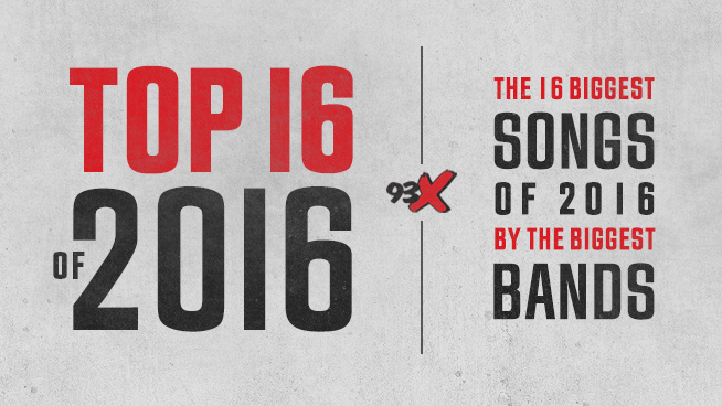 Top 16 of 2016: Playlist Recap