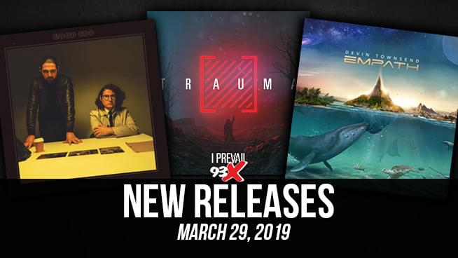 Notable New Releases – March 29, 2019