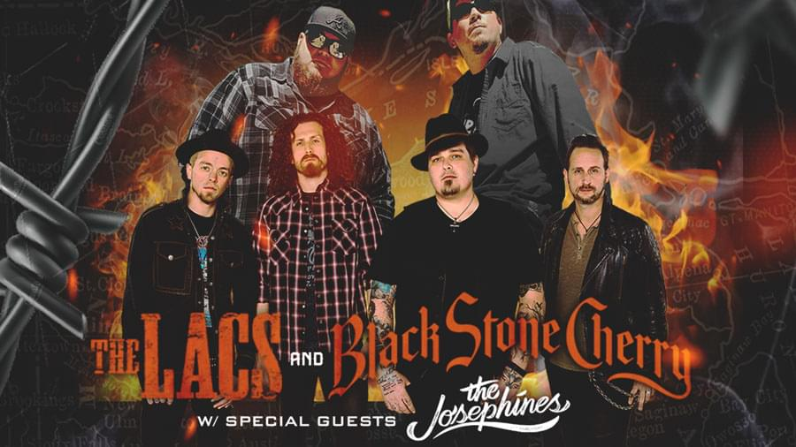 OCT 18 • The Lacs & Black Stone Cherry