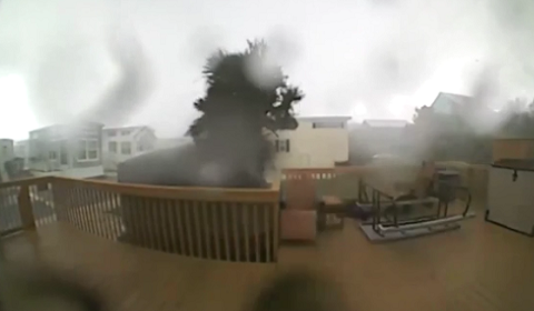 Watch A Tornado Destroy A House On A Doorbell Camera