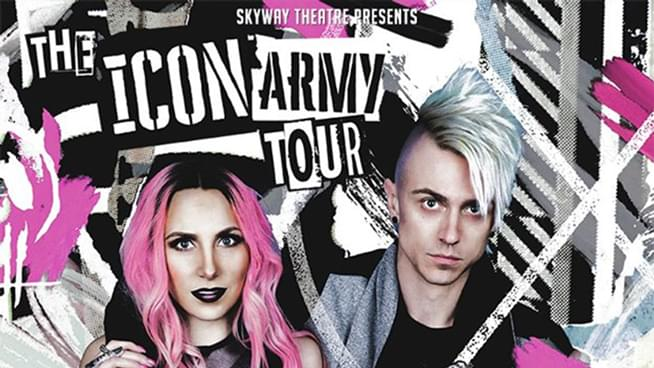 Win Icon For Hire Tickets!