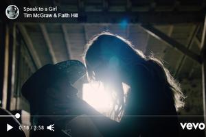 Tim & Faith's New Music Video Is Dreamy