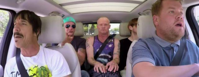 The Red Hot Chili Peppers Do Carpool Karaoke