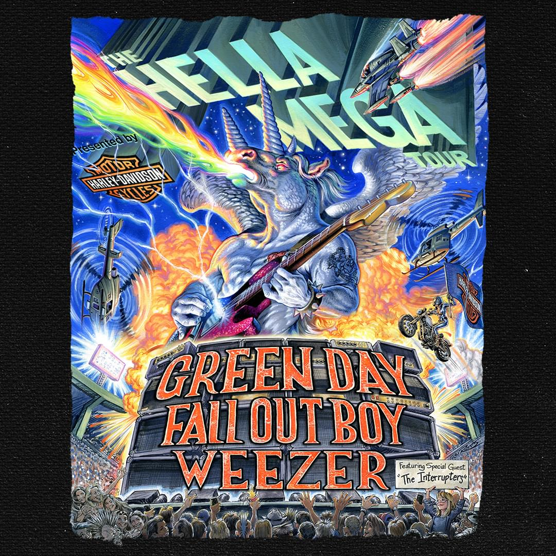 Aug 8 – Green Day, Fall Out Boy, Weezer