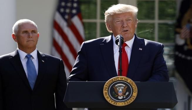 President Trump Postpones Poland trip as hurricane heads to Florida