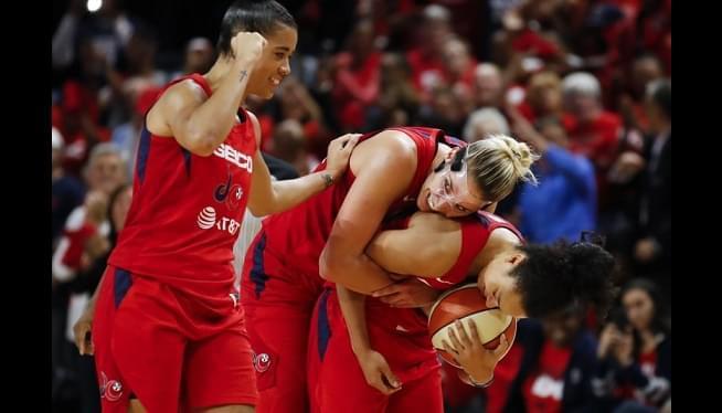 Delle Donne, Washington Mystics Wrap Up WNBA Season With 1st Title