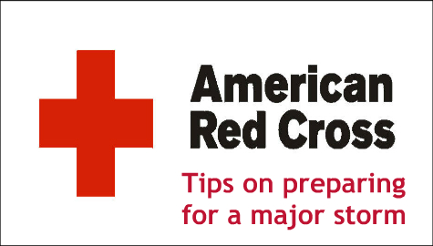 Tips from the American Red Cross on Preparing for the Blizzard