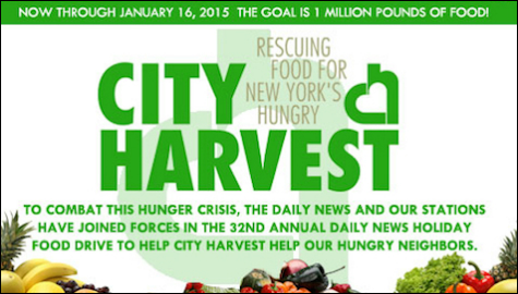 Holiday Food Drive Helps City Harvest