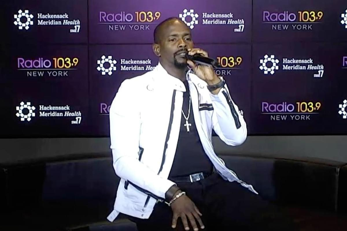Keith Robinson LIVE from HMH Stage 17! [Exclusive Video]