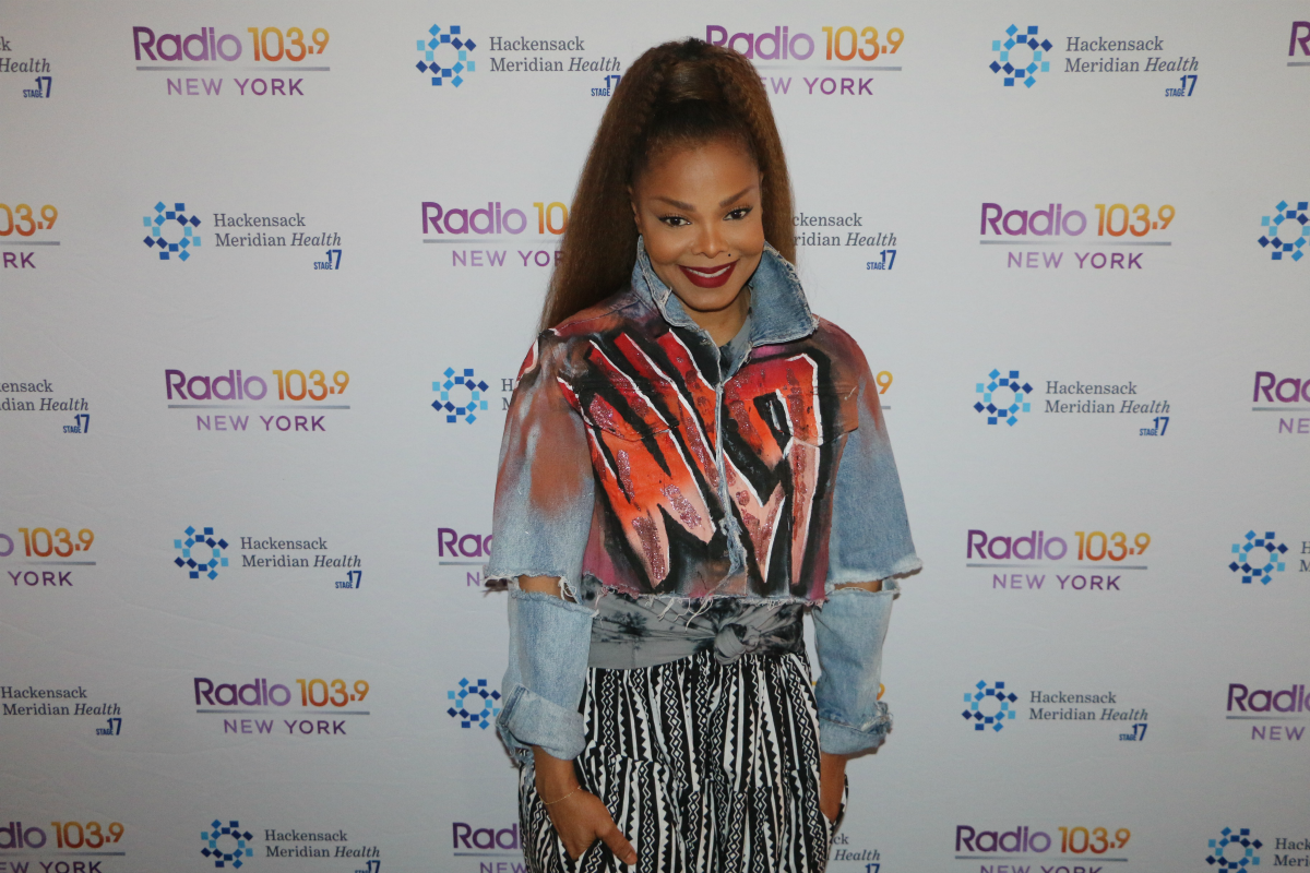 Janet Jackson Interview from HMH Stage 17! [Exclusive Video]