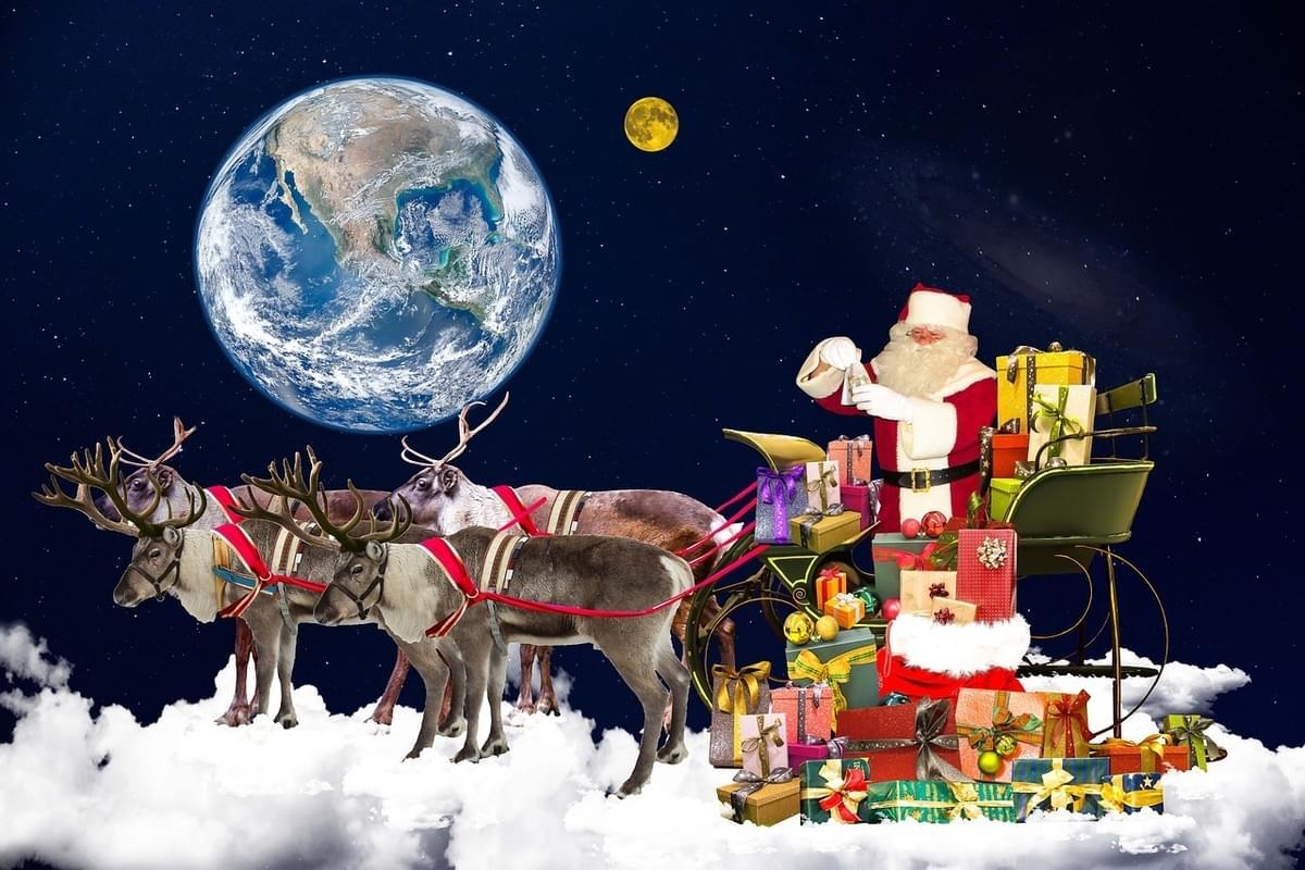 Follow Santa around the world, the NORAD tracker is LIVE