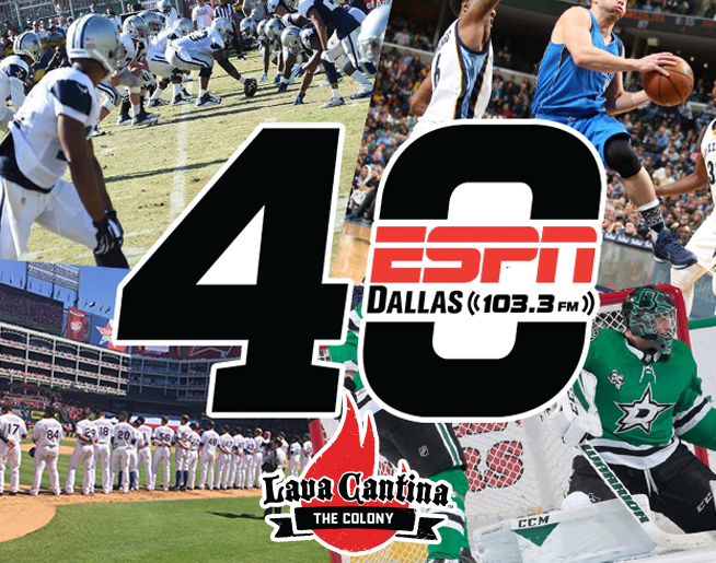 ESPN's 40th Anniversary Celebration at Lava Cantina in The Colony Photos